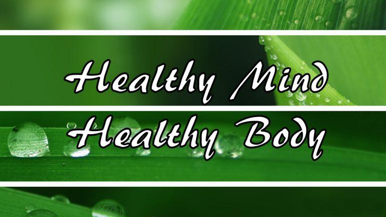 Healthy Mind, Healthy Body - Pritikin Health Weight