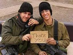 Happy soldiers saying thank you after receiving EFT treatment.