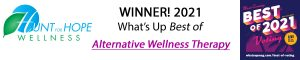 Hunt for Hope Wellness, Winner 2021 What's Up Best of Alternative Wellness Therapy
